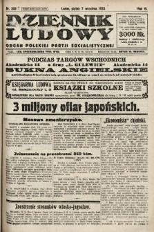 Dziennik Ludowy : organ Polskiej Partji Socjalistycznej. 1923, nr203