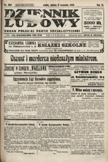 Dziennik Ludowy : organ Polskiej Partji Socjalistycznej. 1923, nr204