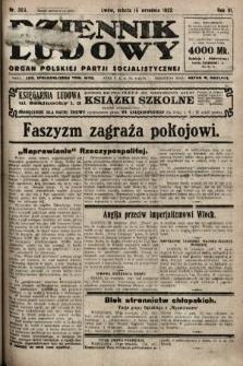 Dziennik Ludowy : organ Polskiej Partji Socjalistycznej. 1923, nr209