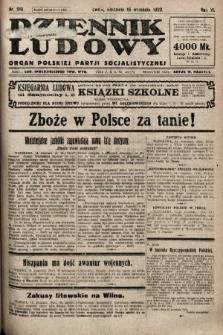 Dziennik Ludowy : organ Polskiej Partji Socjalistycznej. 1923, nr210