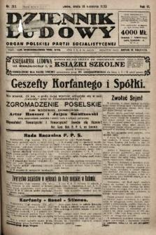 Dziennik Ludowy : organ Polskiej Partji Socjalistycznej. 1923, nr212