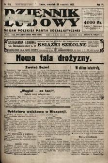 Dziennik Ludowy : organ Polskiej Partji Socjalistycznej. 1923, nr213