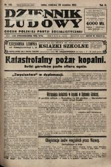 Dziennik Ludowy : organ Polskiej Partji Socjalistycznej. 1923, nr216