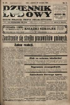 Dziennik Ludowy : organ Polskiej Partji Socjalistycznej. 1923, nr219