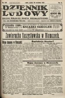 Dziennik Ludowy : organ Polskiej Partji Socjalistycznej. 1923, nr220