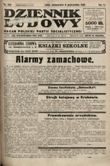 Dziennik Ludowy : organ Polskiej Partji Socjalistycznej. 1923, nr228