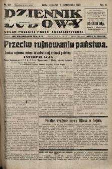 Dziennik Ludowy : organ Polskiej Partji Socjalistycznej. 1923, nr230