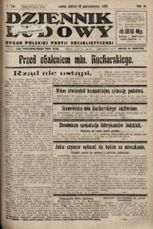 Dziennik Ludowy : organ Polskiej Partji Socjalistycznej. 1923, nr231