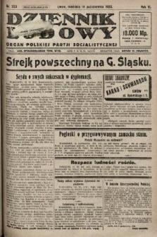 Dziennik Ludowy : organ Polskiej Partji Socjalistycznej. 1923, nr233