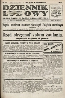 Dziennik Ludowy : organ Polskiej Partji Socjalistycznej. 1923, nr237