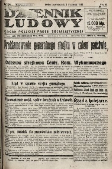 Dziennik Ludowy : organ Polskiej Partji Socjalistycznej. 1923, nr251