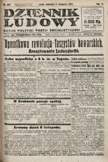 Dziennik Ludowy : organ Polskiej Partji Socjalistycznej. 1923, nr257