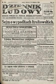 Dziennik Ludowy : organ Polskiej Partji Socjalistycznej. 1923, nr263