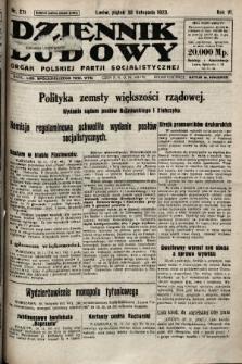 Dziennik Ludowy : organ Polskiej Partji Socjalistycznej. 1923, nr271