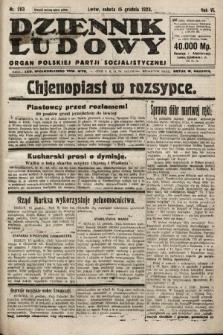 Dziennik Ludowy : organ Polskiej Partji Socjalistycznej. 1923, nr283