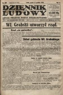 Dziennik Ludowy : organ Polskiej Partji Socjalistycznej. 1923, nr289