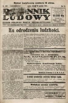 Dziennik Ludowy : organ Polskiej Partji Socjalistycznej. 1923, nr293