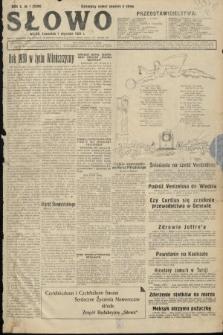 Słowo. 1931, nr1