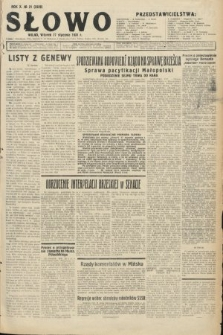 Słowo. 1931, nr21
