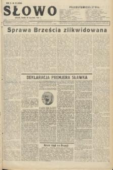 Słowo. 1931, nr22