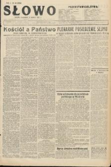 Słowo. 1931, nr58