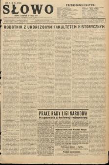 Słowo. 1931, nr115