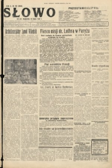 Słowo. 1931, nr157