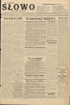 Słowo. 1931, nr168