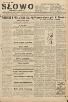 Słowo. 1931, nr182