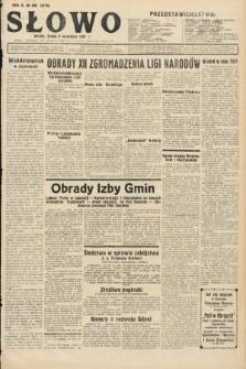 Słowo. 1931, nr206