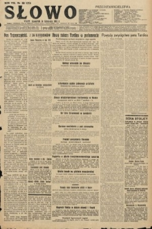 Słowo. 1929, nr263