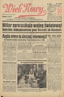 Wiek Nowy : popularny dziennik ilustrowany. 1939, nr11356