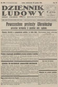 Dziennik Ludowy : organ Polskiej Partji Socjalistycznej. 1924, nr292