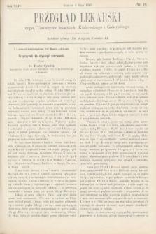 Przegląd Lekarski : organ Towarzystw lekarskich Krakowskiego i Galicyjskiego. 1905, nr18