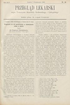 Przegląd Lekarski : organ Towarzystw lekarskich Krakowskiego i Galicyjskiego. 1905, nr40