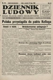 Dziennik Ludowy : organ Polskiej Partji Socjalistycznej. 1928, nr162