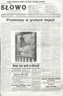 Słowo. 1936, nr1