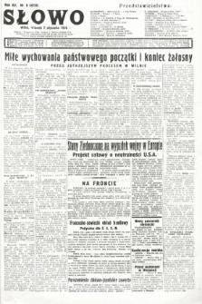 Słowo. 1936, nr6