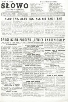 Słowo. 1936, nr9