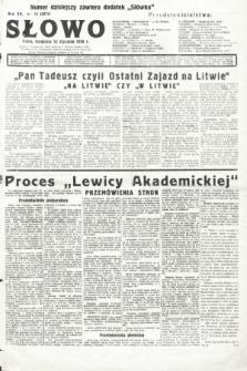 Słowo. 1936, nr11