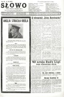 Słowo. 1936, nr20