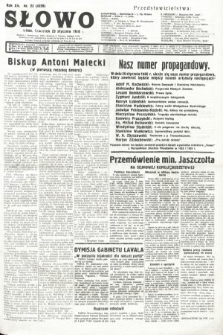 Słowo. 1936, nr22