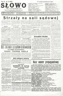 Słowo. 1936, nr27