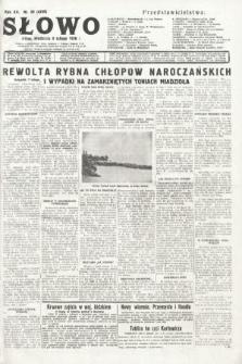 Słowo. 1936, nr39