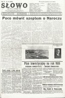 Słowo. 1936, nr42