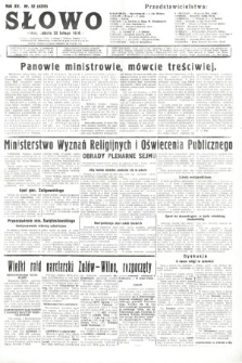 Słowo. 1936, nr52
