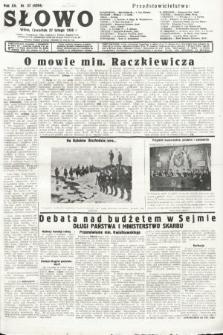 Słowo. 1936, nr57