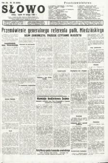 Słowo. 1936, nr58
