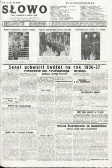 Słowo. 1936, nr74