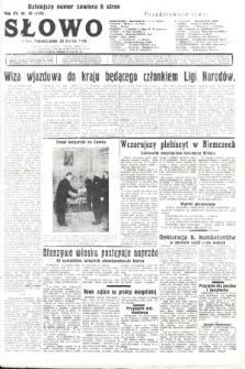 Słowo. 1936, nr89
